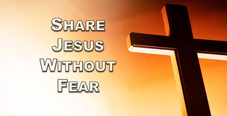 a critique of share jesus without fear Share jesus without fear by william fay with linda evans shepherd was written to inform the reader how important and how to share your faith with people it is a book that tries to motivate and teach believers to be successful in sharing their faith (the gospel) in a simple but effective way.